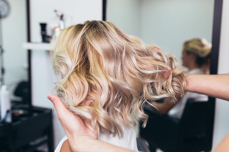 Dallas salon hair coloring