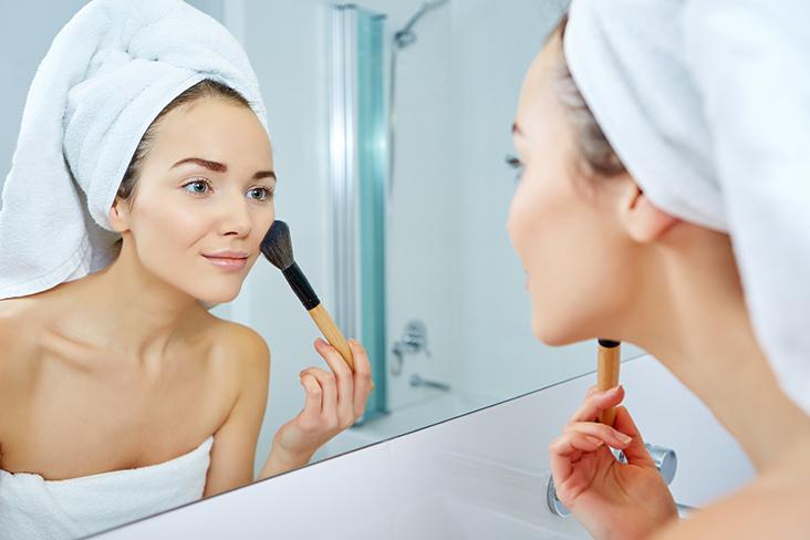 makeup tips to hide a hangover