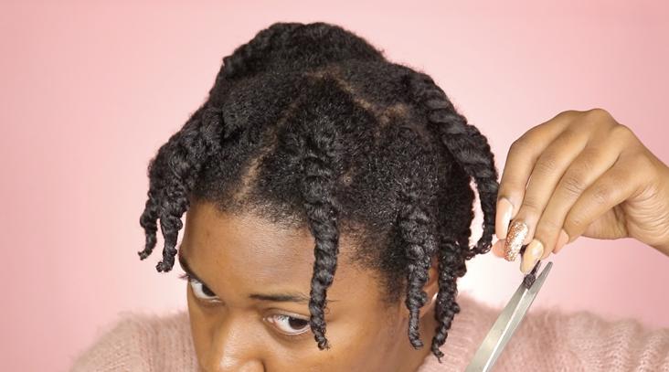 split ends weaken hair