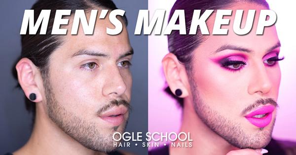 Men's Makeup Tutorial: Electric Neon Pink Glam!