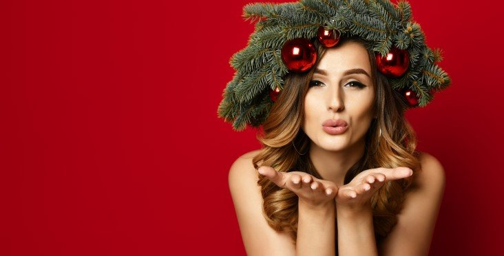 best Christmas style make-up looks
