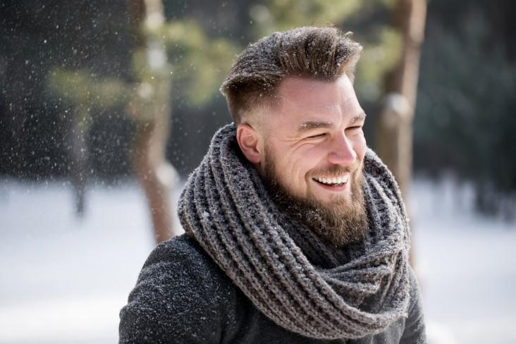 Growing healthy beard for winter